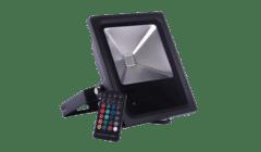Diamond Saxon Remote Control Colour Changing LED Floodlight