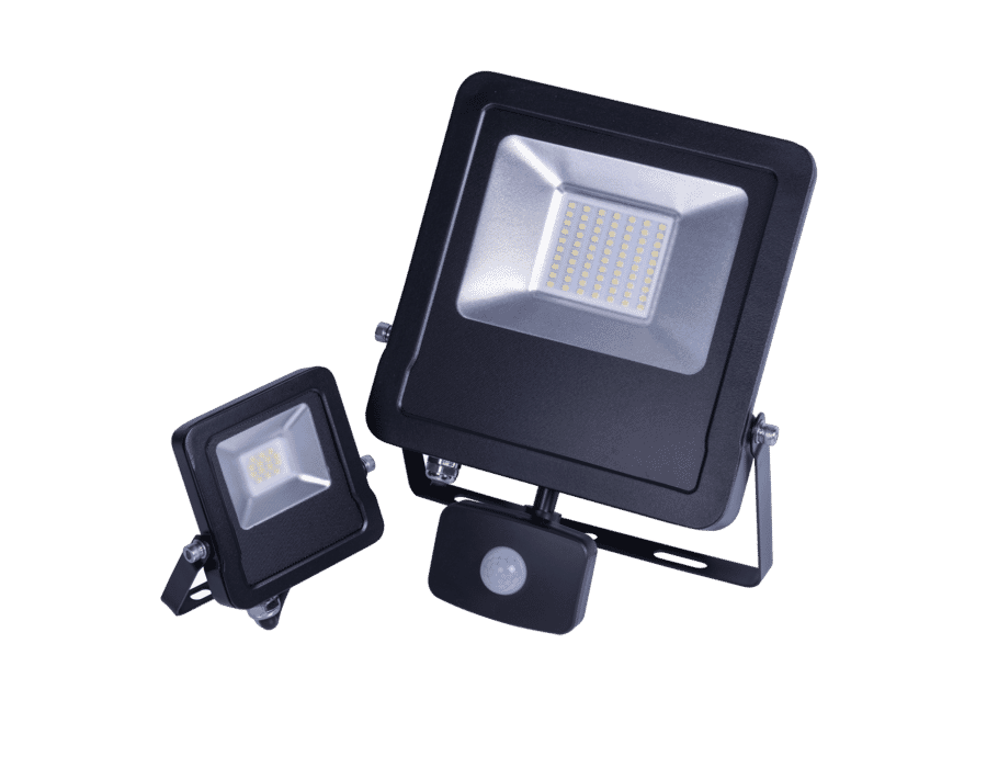 Diamond Tatton Slimline Outdoor LED Floodlight 10-50W