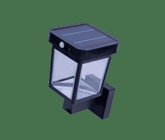 Diamond 11 Watt Solar LED Wall Light with PIR