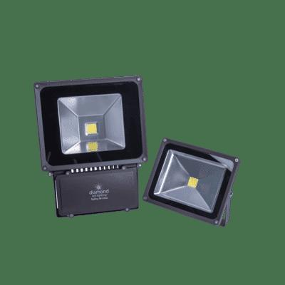 Diamond Coastal Anti-Corrosive Marine LED Floodlight 10-80W
