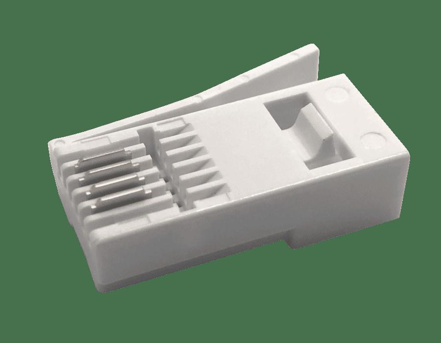 UK BT Style 4 Pin Telephone Plug (25 pack)