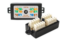 Cat 5e IDC Inline Cable Coupler junction Box