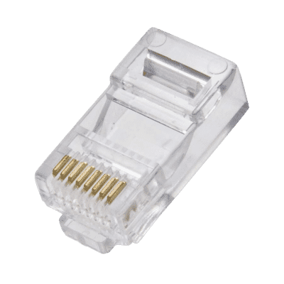 Cat 6 Solid or Stranded RJ45 modular plugs (10pc)
