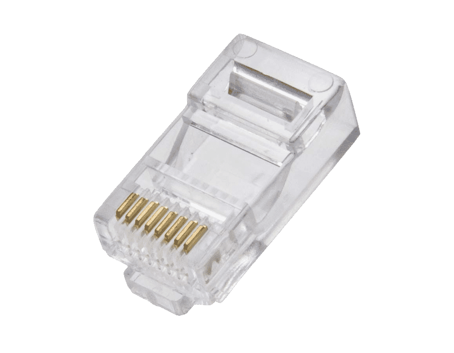 Cat 6 Premium UTP RJ45 modular plugs (10pc)