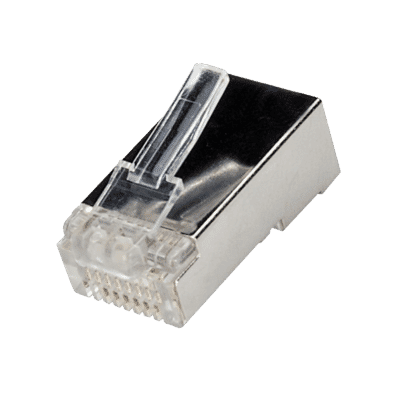 Cat 6 Solid or Stranded Shielded RJ45 Modular Plugs (10pc)