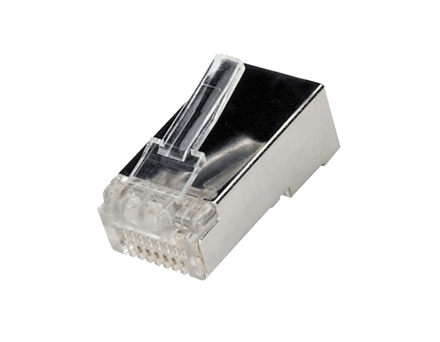 Cat 6 Premium FTP Shielded RJ45 Modular Plugs (10pc)