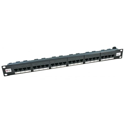 Premium 24 Port Cat 6 UTP IDC Patch Panel