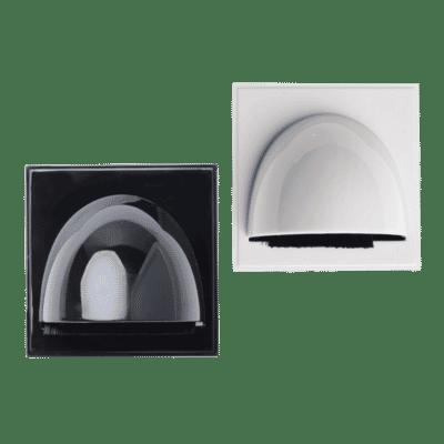 Bull Nose Brush Module Euro Faceplate Insert