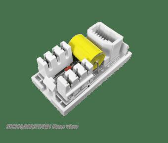 UK Telephone Socket Euro Modules Black or White