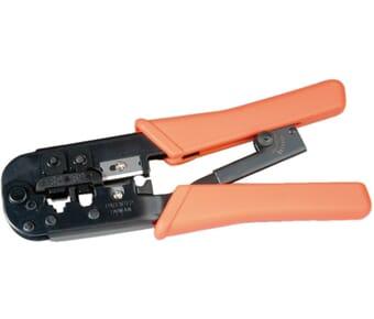 Universal modular crimping tool RJ45 RJ12 RJ11