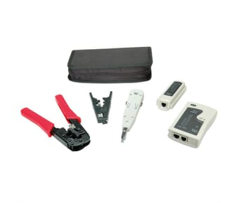 Basic Network installation tool kit RJ45 / Cat5/6