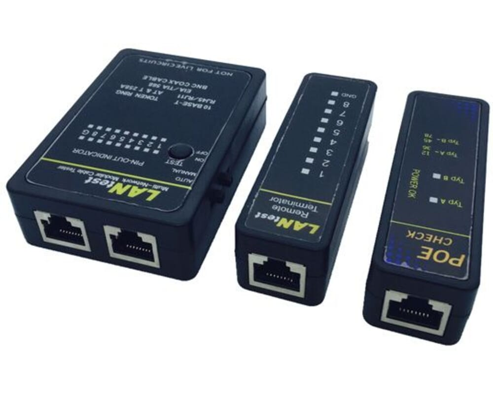 Value Network cable, Coax and POE Tester