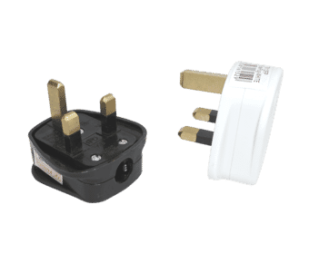 SMJ 13A Fused 3Pin UK Mains Plug