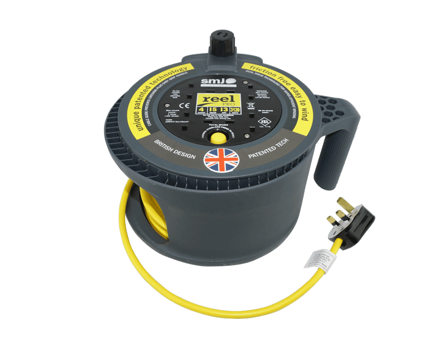 4 Gang 15m 13A Professional Extension Reel