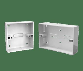 Surface Mount PVC Plastic Flame Retardant Data Back Boxes