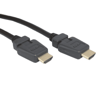 High Quality HDMI Cable with Angled Plug M-M 2M