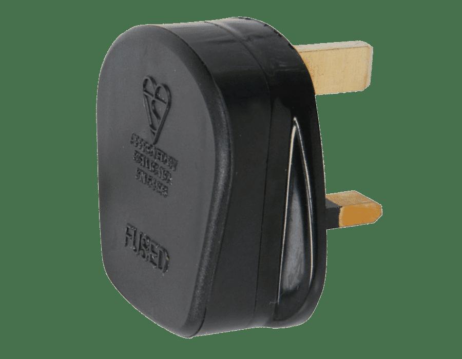 SMJ 13A Fused 3Pin UK Mains Plug