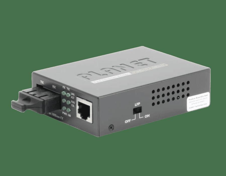 Planet FT-802 10/100Base-TX to 100Base-FX (SC) Media Converter