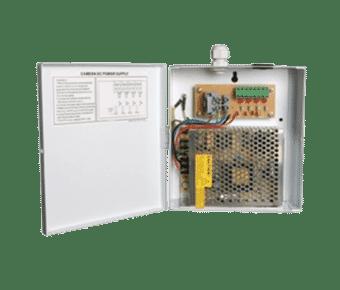 Haydon 12V 4A 4 way Metal Cased Fused Power Supply