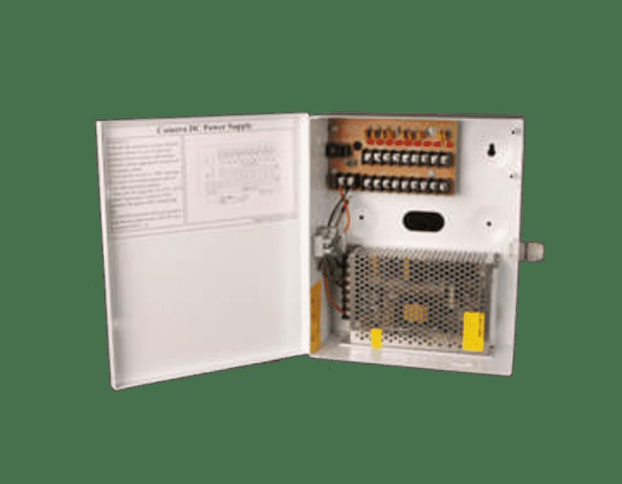 Haydon 12V 10 Amp 9 Way Fused Boxed Power Supply