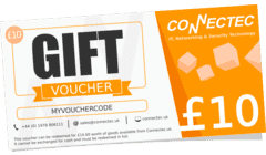 Connectec £10 Gift Voucher