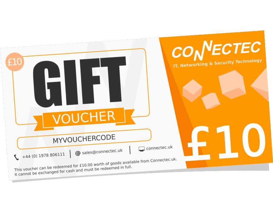 Connectec £10 Gift Voucher