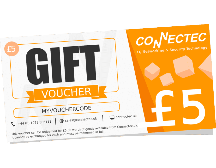 Connectec £5 Gift Voucher