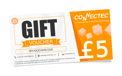 Gift vouchers from Connectec
