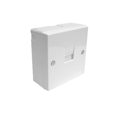 Surface Mount Line Jack Telephone Socket