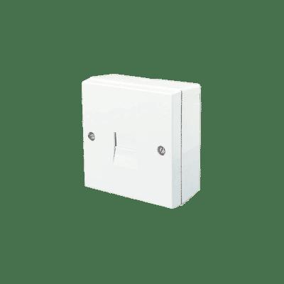 Surface Mount 2/3 Line Jack Telephone Extension Socket
