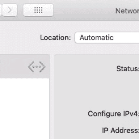 How to find your network gateway and other network details